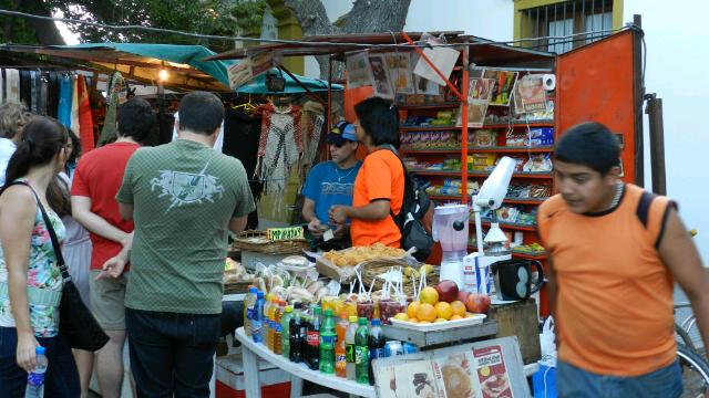 Markt in Buenos Aires
