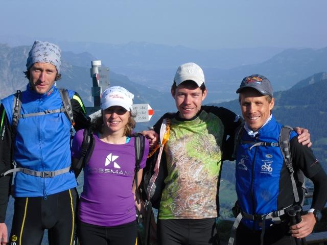Wormser Hütte 2305m mit Nina, Daniel, Lars und René