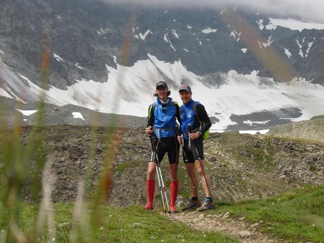 Aufstieg zum Futschölpass (2720m)