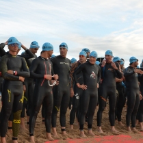 Barcelona Ironman 2012 - Minuten vor dem Start