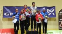 Siegerehrung Mettmann Duathlon Kurzdistanz 2013
