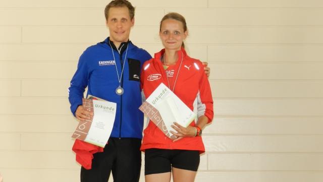 Sieger und Kreismeister mit Marlene Günther