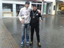 Platz 1 und Platz 3 beim Siegburg Triathlon