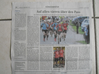 General Anzeiger vom 20.09.2013 - Transalpine-Run