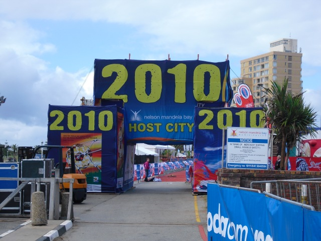 Before the race in 2010