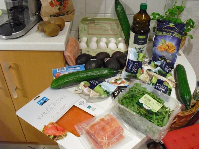 Gesunde Fette und Gemüse - mehr wird es nicht geben