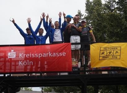 2. Platz Team SSF Bonn I Triathlon