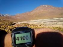 Aufstieg auf den El Tatio Geysir