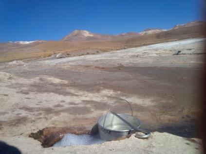 Kochen mit Geothermie