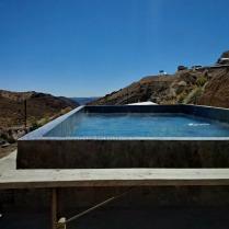 termas jurasi in Putre - that hot water comes from a Vulcan