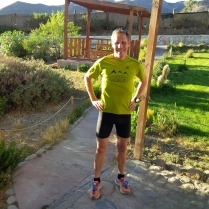 After a short run at this altitude I felt like a long competition