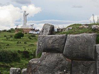 Cusco - el cristo blanco
