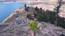 Aufstieg auf den Cerro Calvario
