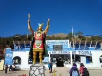 Ankunft in Copacabana am Titicacasee
