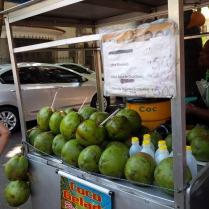 Kokus Nüsse überall