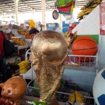 sogar den WM Pokal