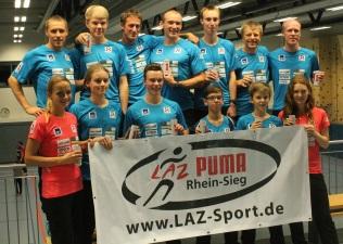 RTL Spendenmarathon 2015 - Team LAZ Puma Rhein-Sieg