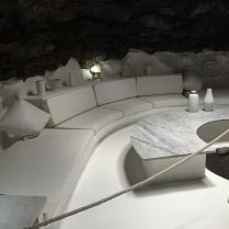 César Manrique's Haus, eines der Vulkanblasen in eine Lounge verwandelt