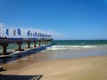 PE - Nelson Mandela beach official swim start aera