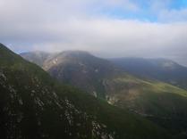 Weiter nach Oudtshoorn über die Berge