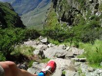 Aufstieg zum Tablemountain in Kapstadt