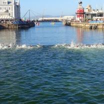 Kapstadt, ITU Triathlon worldcup - die schnellsten Athleten über die Kurzdistanz