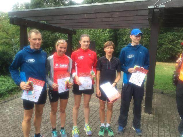 Löwenburglauf 2016 Platz 3 Gesamt