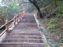 1056 Stufen Aufstieg zur Mauer