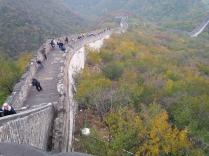 die chinesische Mauer, bei Peking