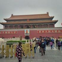 Eingang verbotene Stadt, gegenüber vom Platz des himmlischen Friedens