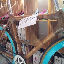 Rahmen aus Bambus - sehr nachhaltig