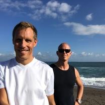 Ausflug zum Meer - schwimmen unmöglich bei dem Wellengang