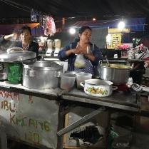 Garküche auf dem Night market