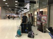 Arrival at Bangkok Airport