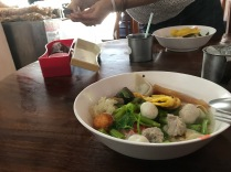 First thai soup - whatever is was