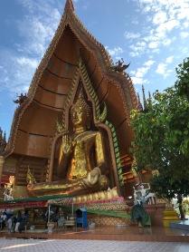 This Budha was really huge