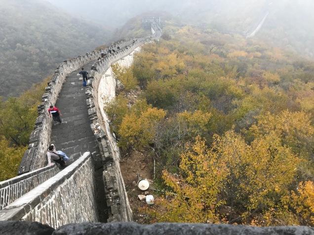 Egal wie das Wetter an der Great Wall ist, es ist mystisch