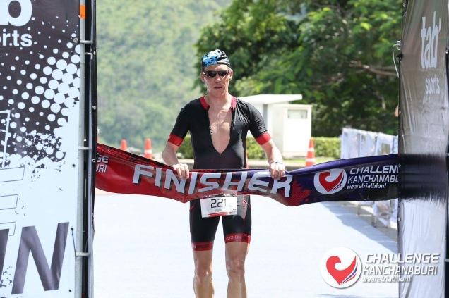Hitzerennen in Thailand, Kanchanaburi mit AK Sieg und 13 overall