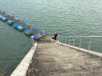 72 stairs climbing after swim part