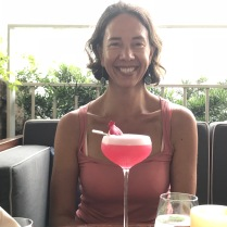 Cocktail im Marina Bay - dafür müssen wir einen Tag hungern !