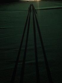 Der letzte Schatten am Strand