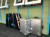 Mal wieder das Rad verpackt und unsere Kölner Koffer haben wieder ein paar Beulen