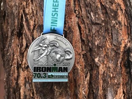 Championship heisst immer eine Mega schwere Medaille- mit Koala Bär