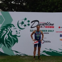 Singapur Duathlon 2. Gesamtplatz
