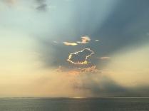 Der Himmel über Bintan, extra für einem Freund, der sonst immer den Kölner Himmel ablichtet