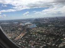 Anflug auf Sydney