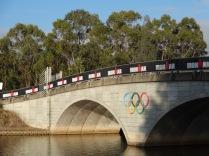"""Hier fanden im Jahr 2000 die olympischen Spiele statt, """"Sydney international Regatta Centre"""""""