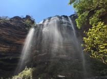 A hiking tour into the Blue Mountains