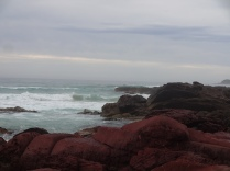 Red rocks at sapphier coast