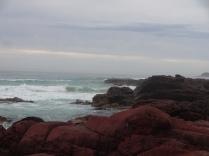 Red rocks at sapphier coast